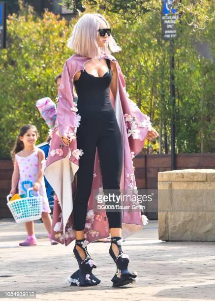 Megan Pormer is seen on October 28 2018 in Los Angeles California
