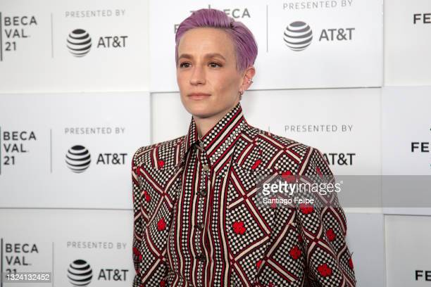 Megan Rapinoe attends 'LFG' Premiere during 2021 Tribeca Festival at The Battery on June 17, 2021 in New York City.