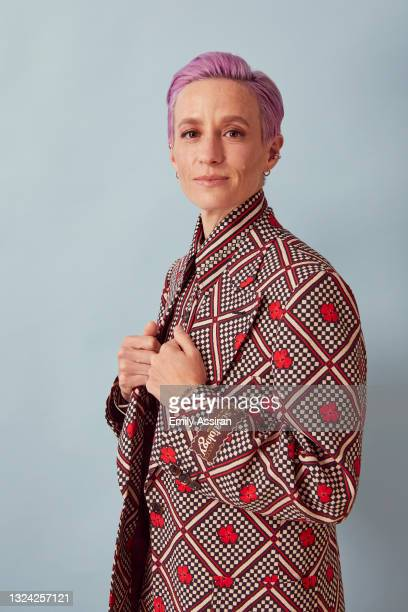 Megan Rapinoe of LFG poses for a portrait during the 2021 Tribeca Festival at The Battery on June 17, 2021 in New York City.
