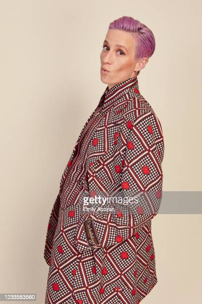 Megan Rapinoe of LFG poses for a portrait during the 2021 Tribeca Film Festival at The Battery on June 17, 2021 in New York City.
