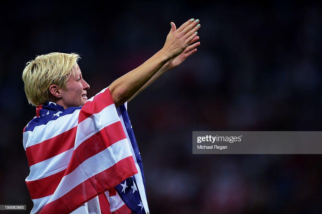 Olympics Day 13 - Women's Football Final - Match 26 - USA v Japan : News Photo