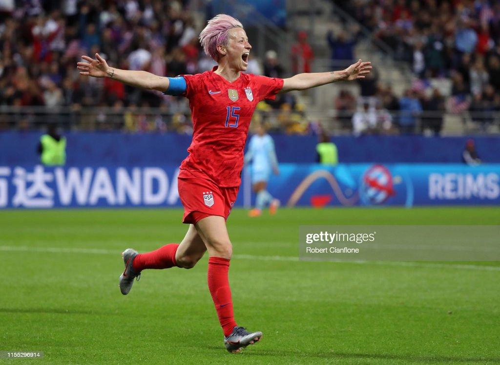 USA v Thailand: Group F - 2019 FIFA Women's World Cup France : News Photo
