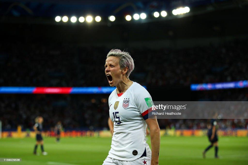 France v USA: Quarter Final  - 2019 FIFA Women's World Cup France : ニュース写真