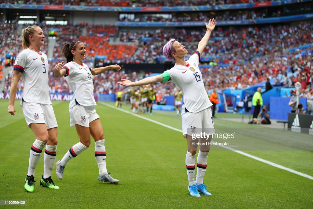 United States of America v Netherlands : Final - 2019 FIFA Women's World Cup France : Photo d'actualité