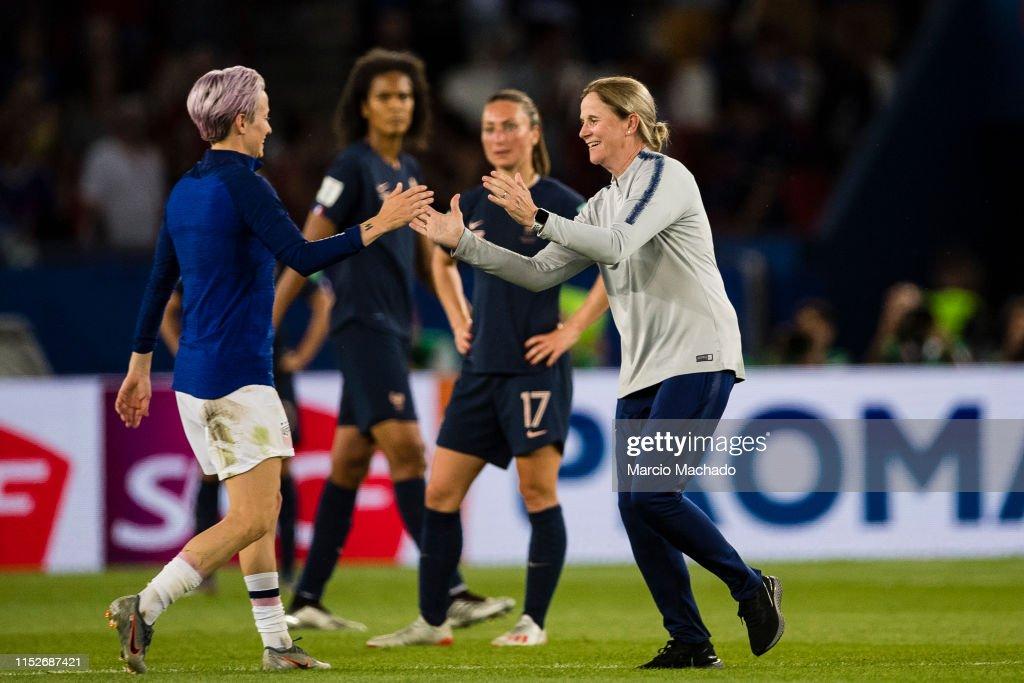 France v USA: Quarter Final  - 2019 FIFA Women's World Cup France : Photo d'actualité