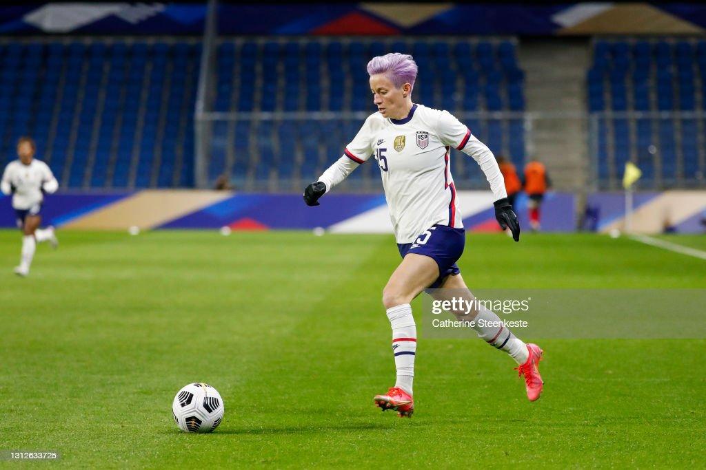 France v United States - International women friendly match : News Photo