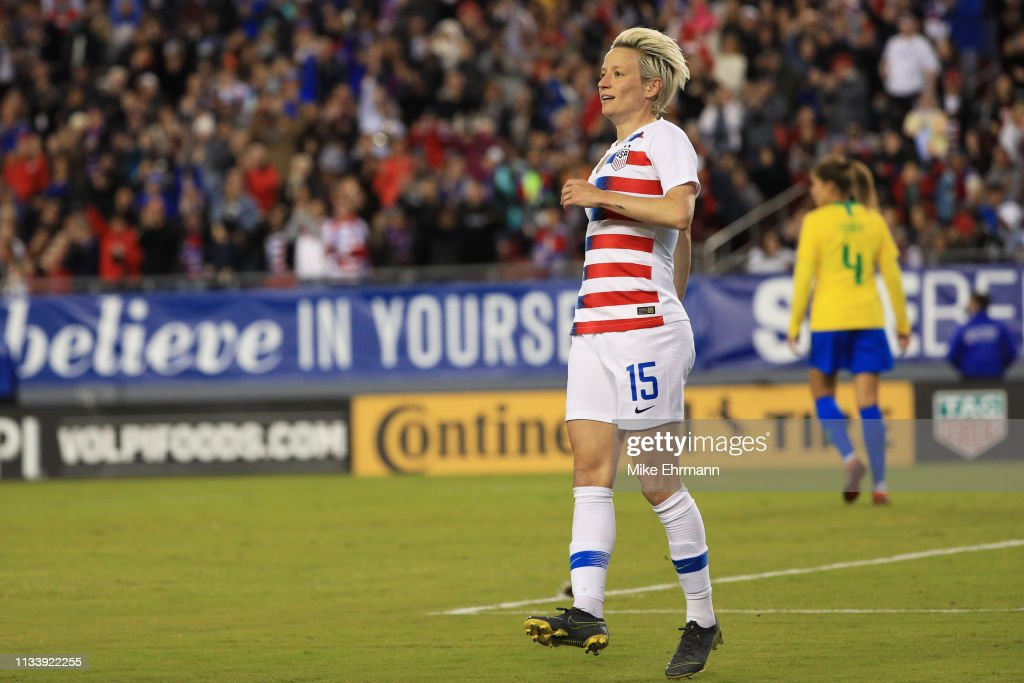 2019 SheBelieves Cup - United States v Brazil : News Photo