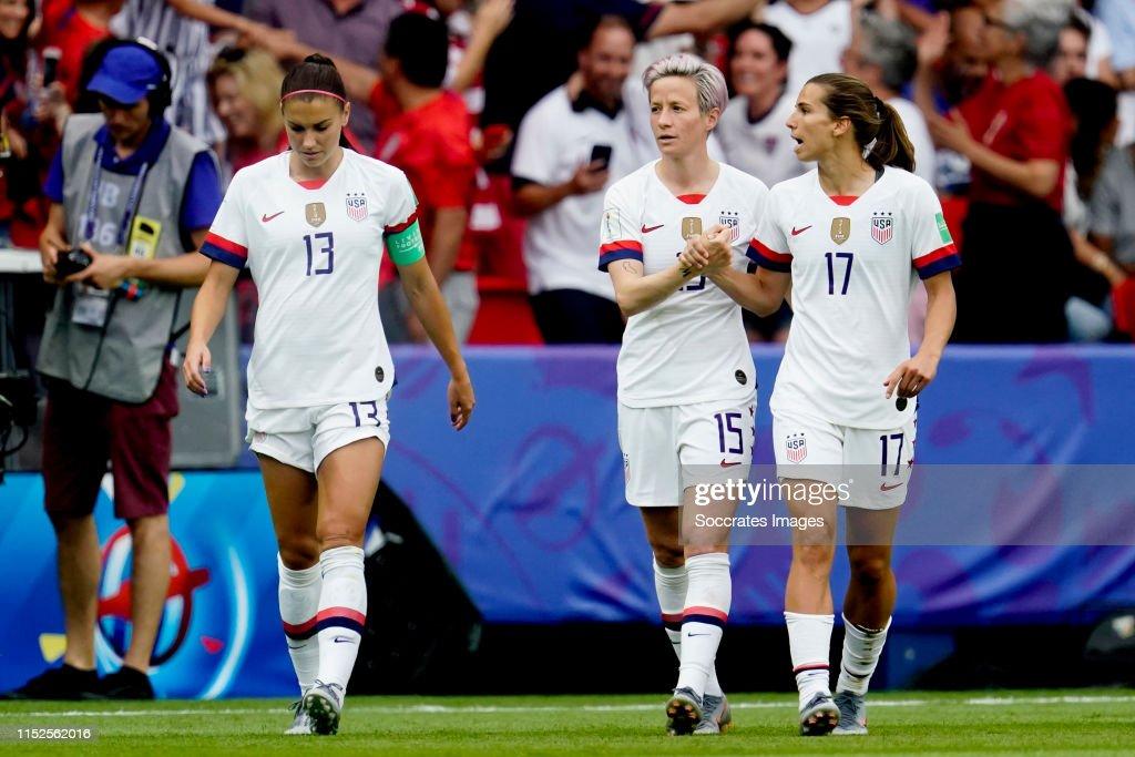 France  v USA  -World Cup Women : News Photo