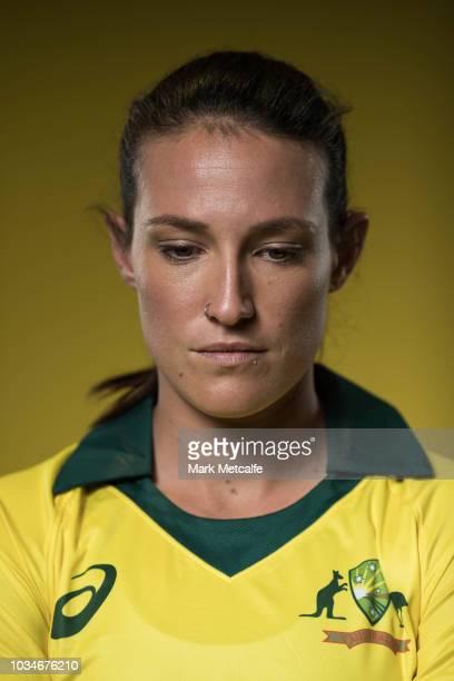 Megan Schutt poses during the Cricket Australia Women's National Squad Player Camp on September 13 2018 in Sydney Australia