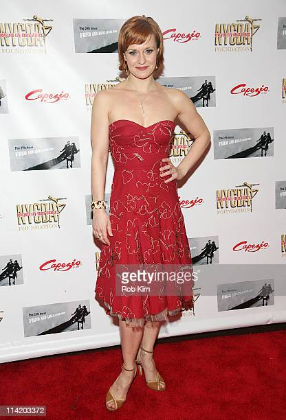 Megan Sikora attends the 29th Annual Fred Adele Astaire Awards at Jack H Skirball Center for the Performing Arts on May 15 2011 in New York City
