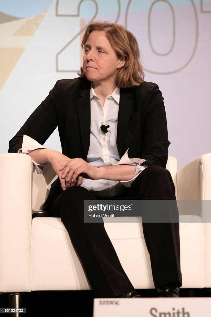 Megan Smith speaks onstage at Democratizing AI for Individuals & Organizations during SXSW at Austin Convention Center on March 13, 2018 in Austin, Texas.