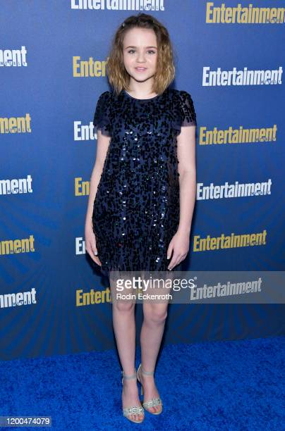 Megan Stott attends Entertainment Weekly PreSAG Celebration at Chateau Marmont on January 18 2020 in Los Angeles California