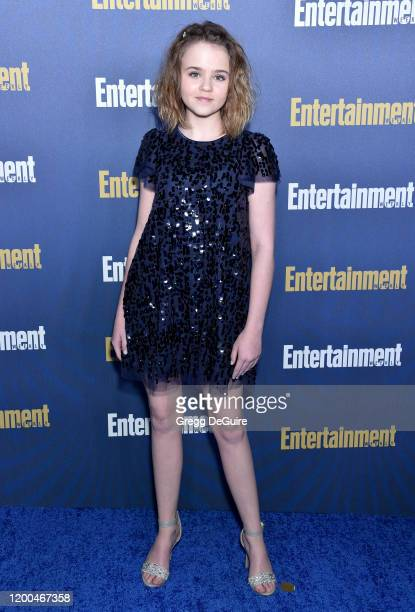 Megan Stott attends the Entertainment Weekly PreSAG Celebration at Chateau Marmont on January 18 2020 in Los Angeles California