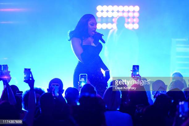 Megan Thee Stallion attends Rihanna's 5th Annual Diamond Ball Benefitting The Clara Lionel Foundation at Cipriani Wall Street on September 12 2019 in...
