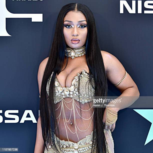 Megan Thee Stallion attends the 2019 BET Awards on June 23 2019 in Los Angeles California