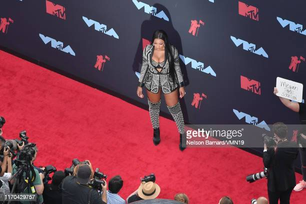 Megan Thee Stallion attends the 2019 MTV Video Music Awards at Prudential Center on August 26 2019 in Newark New Jersey