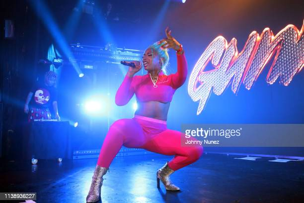 Megan Thee Stallion performs at Irving Plaza on April 22 2019 in New York City