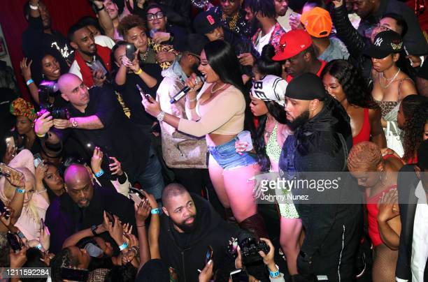 Megan Thee Stallion performs at the TIDAL X Megan Thee Stallion Ain't Shit Sweet Hottie Party at Public Arts on March 09 2020 in New York City