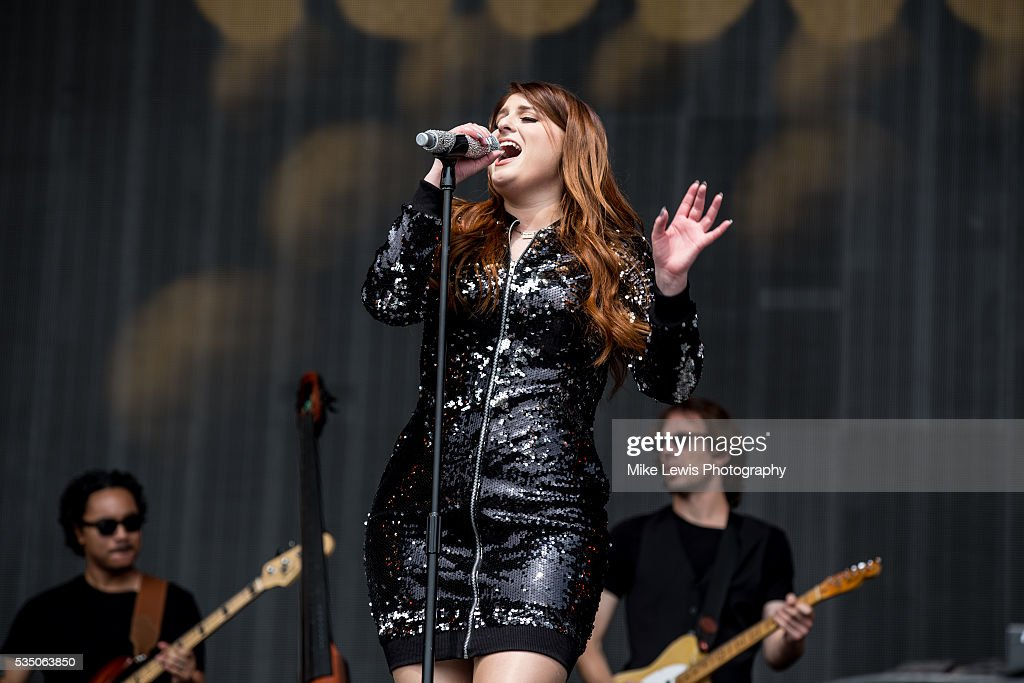 Megan Trainor performs at Powderham Castle on May 28, 2016 in Exeter, England.