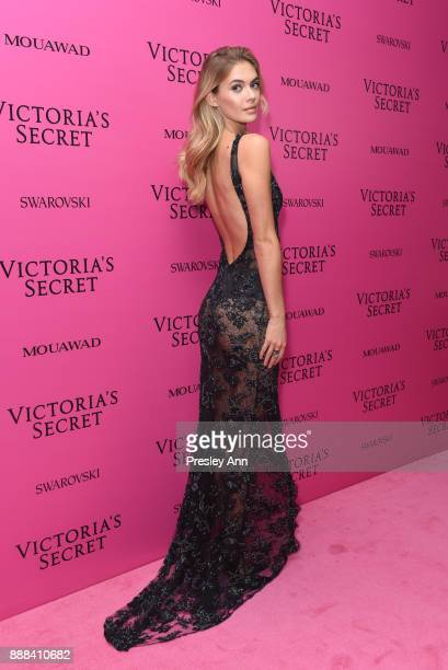 Megan Williams attends 2017 Victoria's Secret Fashion Show In Shanghai After Party at MercedesBenz Arena on November 20 2017 in Shanghai China