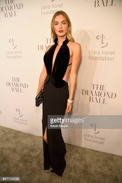 Megan Williams attends Rihanna's 3rd Annual Diamond Ball Benefitting The Clara Lionel Foundation at Cipriani Wall Street on September 14 2017 in New...