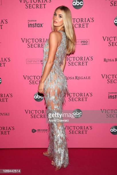 Megan Williams attends the 2018 Victoria's Secret Fashion Show After Party on November 8 2018 in New York City