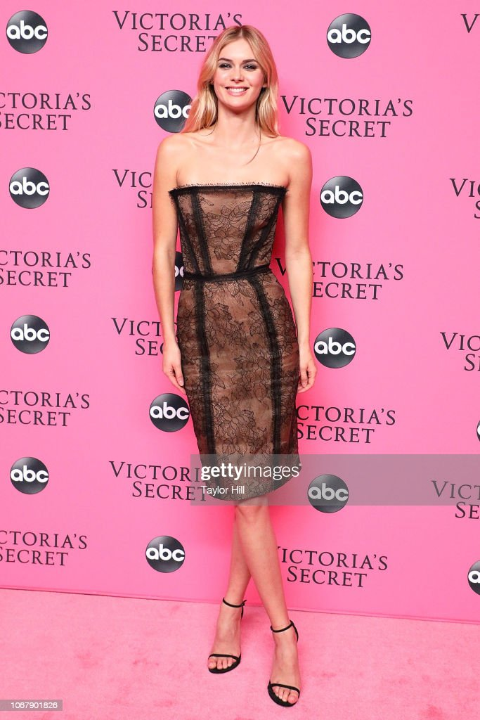 2018 Victoria's Secret Fashion Show Viewing Party : News Photo