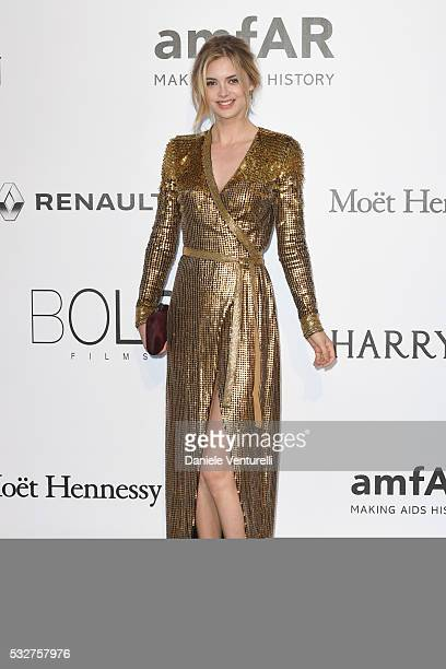 Megan Williams attends the amfAR's 23rd Cinema Against AIDS Gala at Hotel du CapEdenRoc on May 19 2016 in Cap d'Antibes France