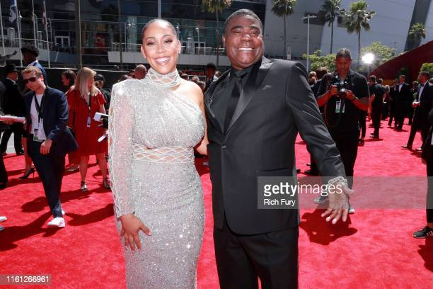 Megan Wollover and Tracy Morgan attend The 2019 ESPYs at Microsoft Theater on July 10 2019 in Los Angeles California