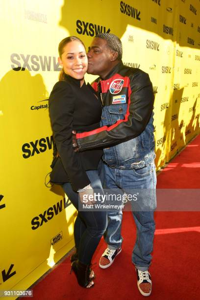 Megan Wollover and Tracy Morgan attend the 'The Last OG' Premiere 2018 SXSW Conference and Festivals at Paramount Theatre on March 12 2018 in Austin...