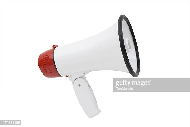 megaphone - loudspeaker stock photos and pictures