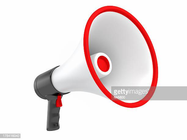 megaphone - megaphone stock pictures, royalty-free photos & images