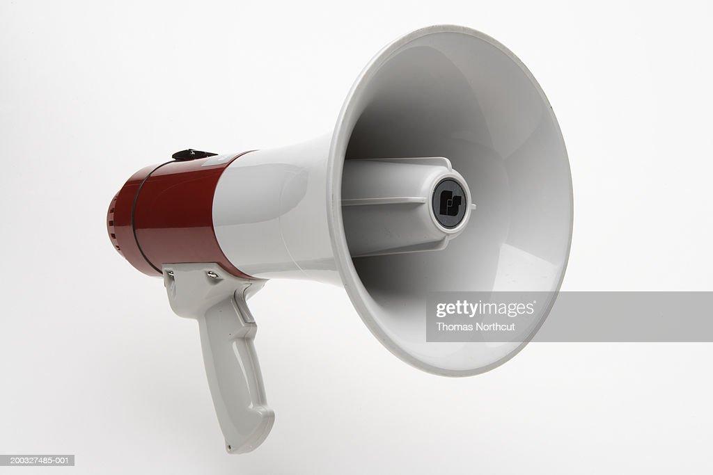 Megaphone : Stock Photo