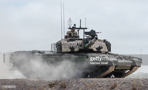 Megatron Challenger 2 British Main Battle Tank development and research vehiclebritish army Tankfest 2013 bovington tank museum