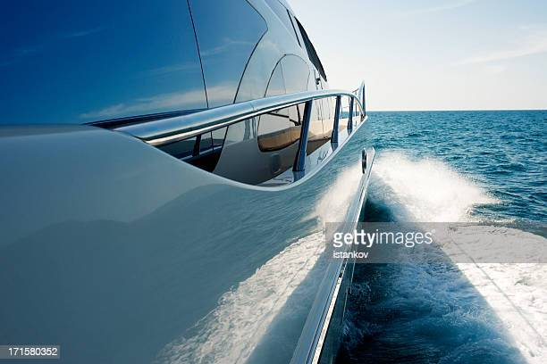 megayacht - nautical vessel stock pictures, royalty-free photos & images
