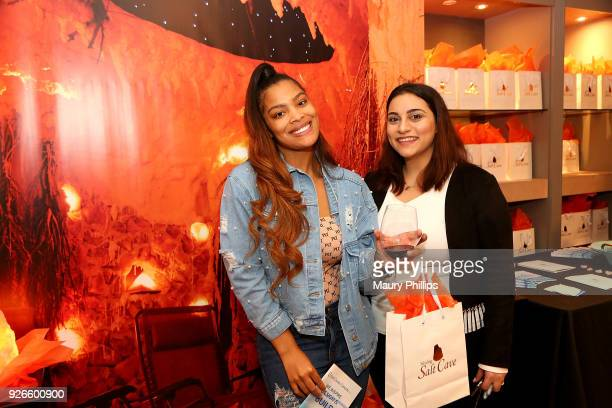 Meghan and guest attend GBK PreOscar Luxury Lounge on March 2 2018 in Beverly Hills California