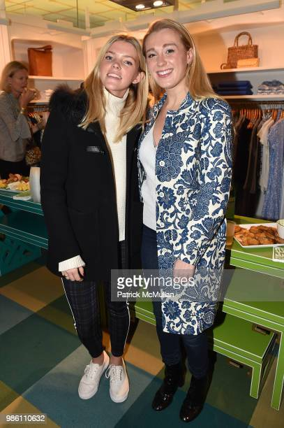 Meghan Collins and Jane Warnock attend JMcLaughlin Shopping Event to benefit Save the Children at JMcLaughlin on April 5 2018 in New York City