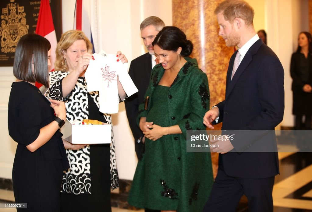 The Duke And Duchess Of Sussex Attend A Commonwealth Day Youth Event At Canada House : News Photo