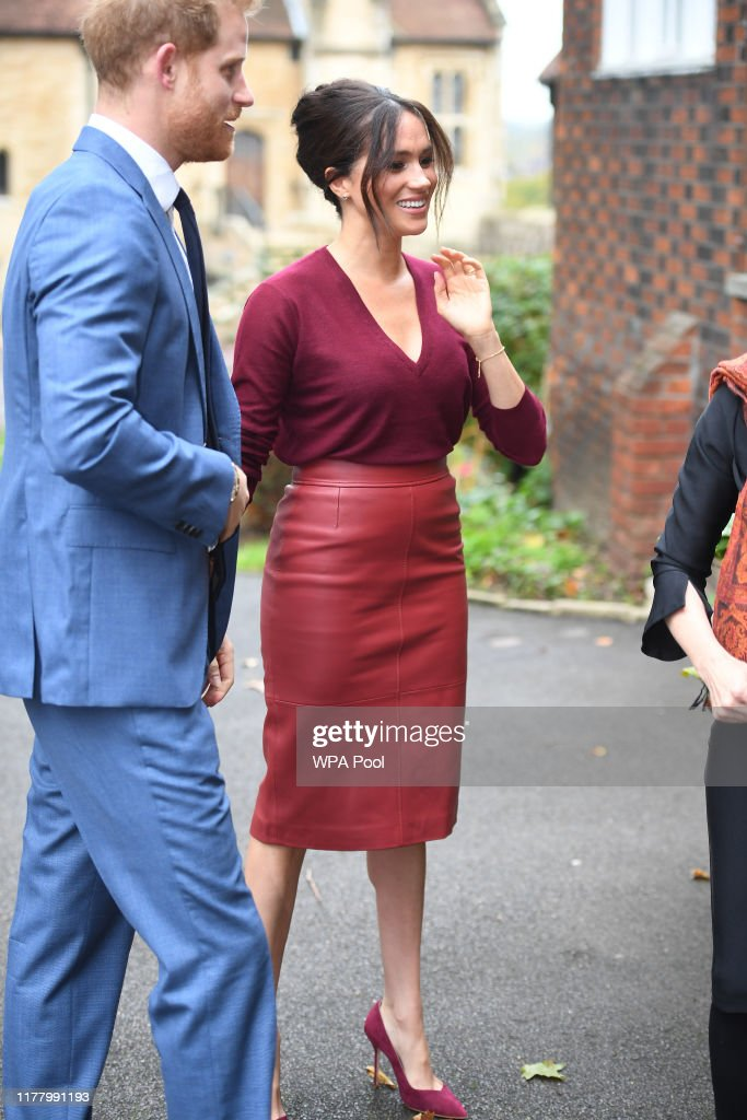 The Duke & Duchess of Sussex Attend a Roundtable Discussion on Gender Equality with The Queens Commonwealth Trust : Foto jornalística