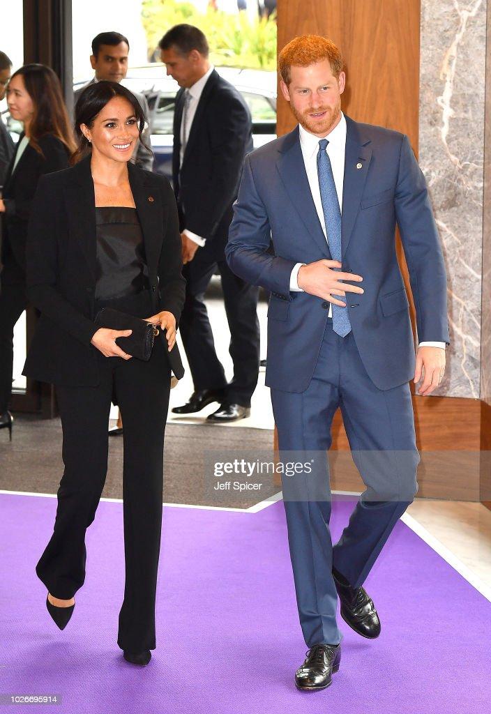 The Duke & Duchess Of Sussex Attend The WellChild Awards : News Photo
