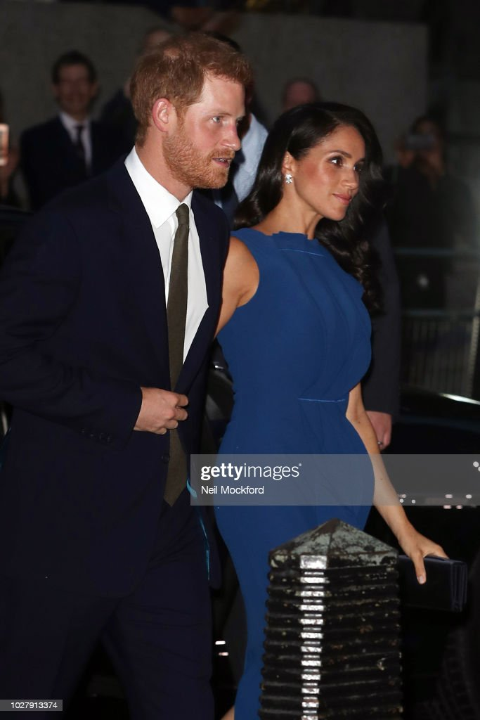 """The Duke & Duchess Of Sussex Attend """"100 Days Of Peace"""" Commemorative Concert"""