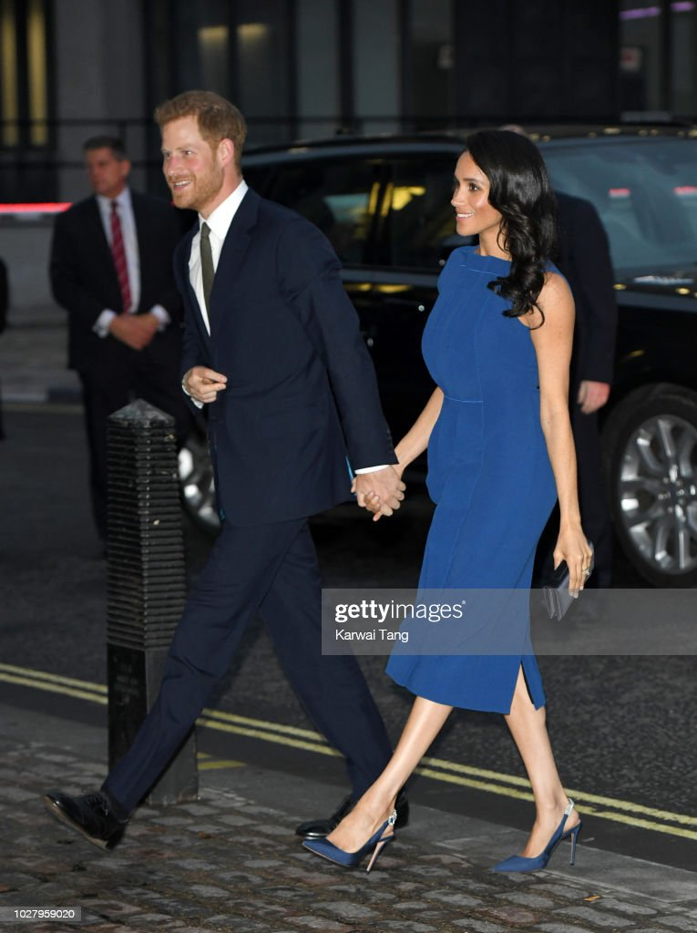 Meghan, Duchess of Sussex and Prince Harry, Duke of Sussex attend the '100 Days To Peace' concert to commemorate the centenary of the end of the First World War at Central Hall Westminster on September 6, 2018 in London, England. The evening will benefit three mental health charities 'Help for Heroes', 'Combat Stress' and 'Heads Together'.