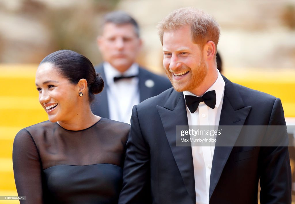 """The Lion King"" European Premiere - Red Carpet Arrivals : News Photo"