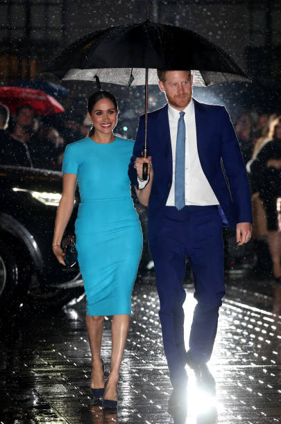 GBR: The Duke And Duchess Of Sussex Attend The Endeavour Fund Awards