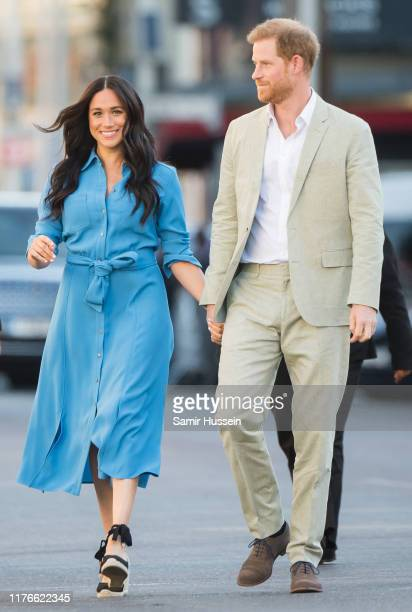 Meghan, Duchess of Sussex and Prince Harry, Duke of Sussex visit the District 6 Museum and Homecoming Centre during their royal tour of South Africa...
