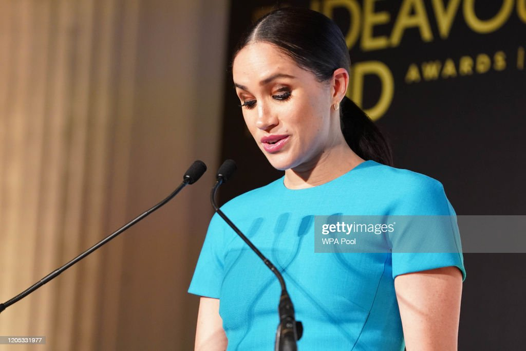 The Duke And Duchess Of Sussex Attend The Endeavour Fund Awards : News Photo
