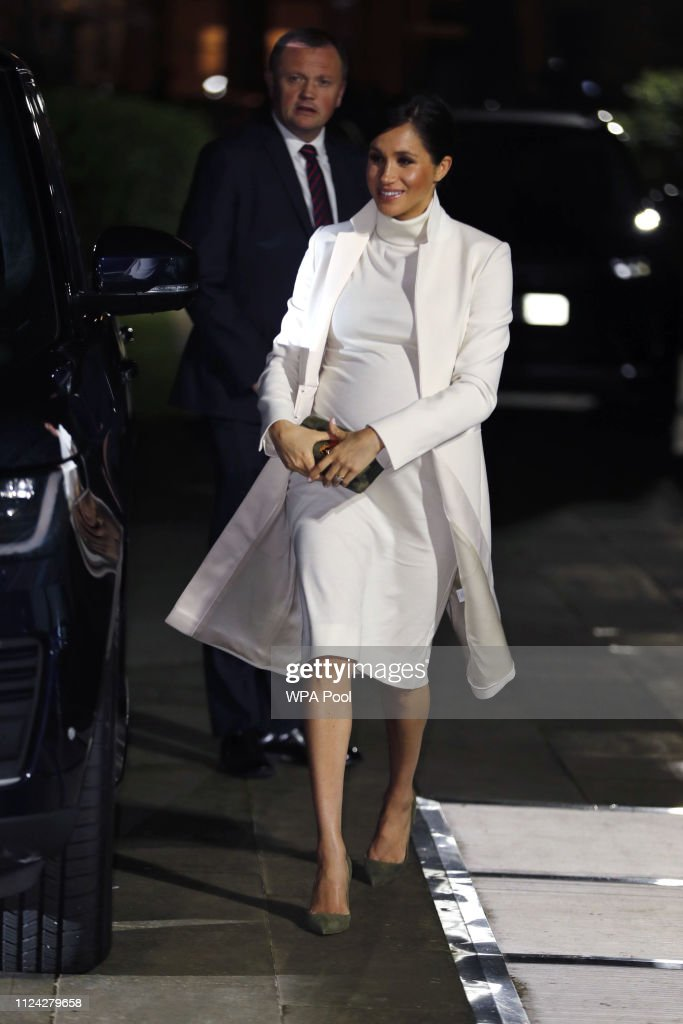 35a6e29a7 The Duke And Duchess Of Sussex Attend A Gala Performance Of
