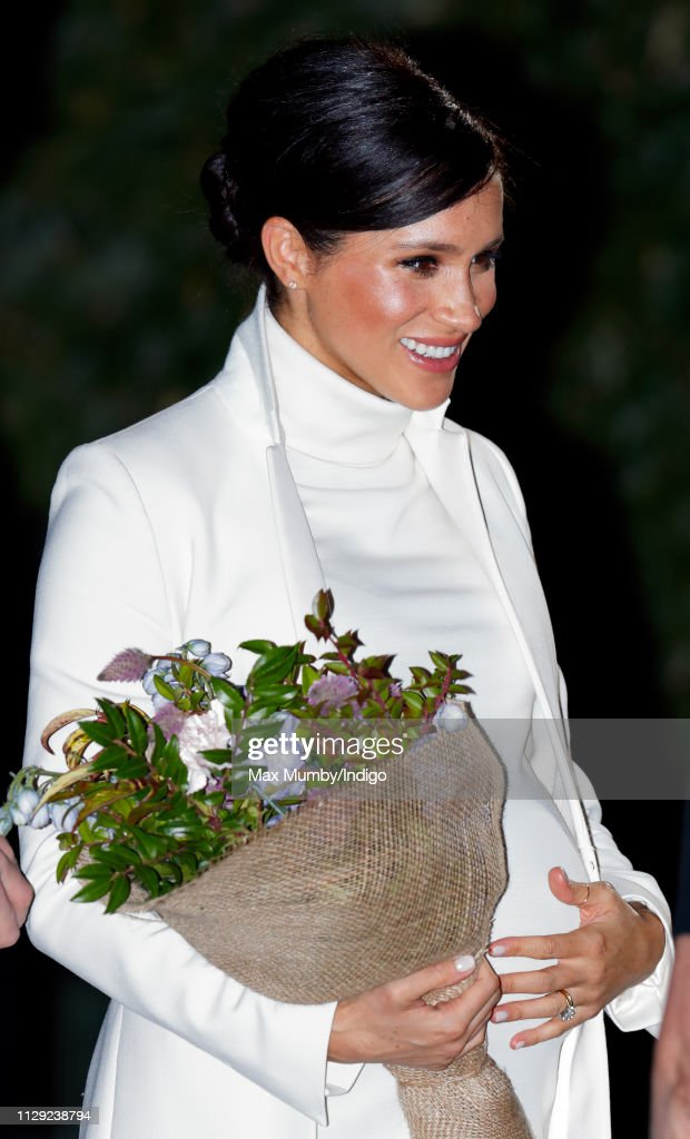 "The Duke And Duchess Of Sussex Attend A Gala Performance Of ""The Wider Earth"" : News Photo"