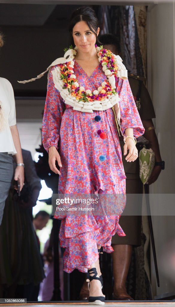 The Duke And Duchess Of Sussex Visit Fiji - Day 2 : Nachrichtenfoto