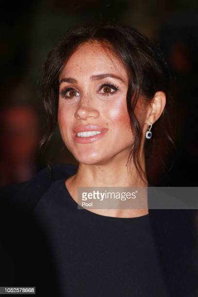 Meghan Duchess of Sussex attends a reception before the opening ceremony of the 2018 Invictus Games on October 20 2018 in Sydney Australia